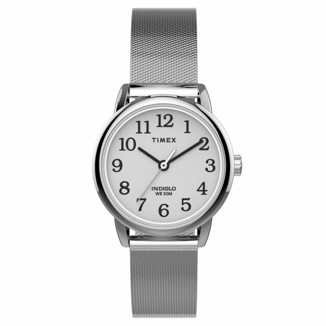 Hodinky TIMEX - Easy Reader Classic TW2U07900 Silver/White