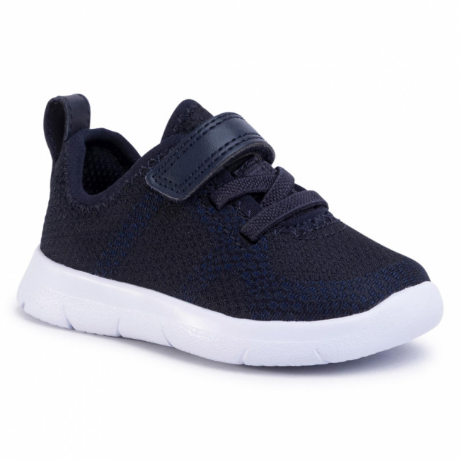 Sneakersy CLARKS - Ath Flux T 261412697  Navy