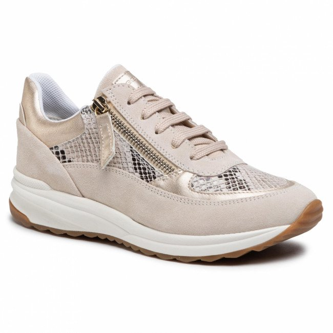 Sneakersy GEOX - D Airell A D152SA 02241 C5000 Beige
