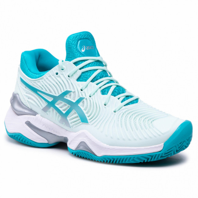 Topánky ASICS - Court Ff 2 Clay 1042A075  Bio Mint/Lagoon 300