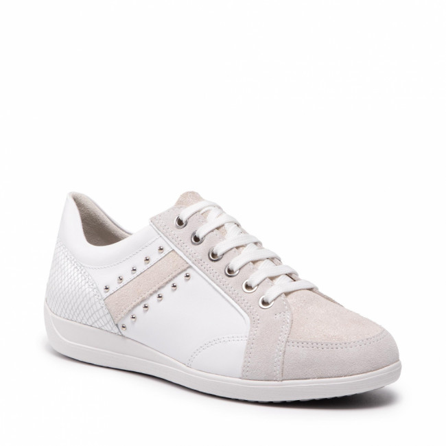Sneakersy GEOX - D Myria H D0468H 08577 C1352 White/Off White