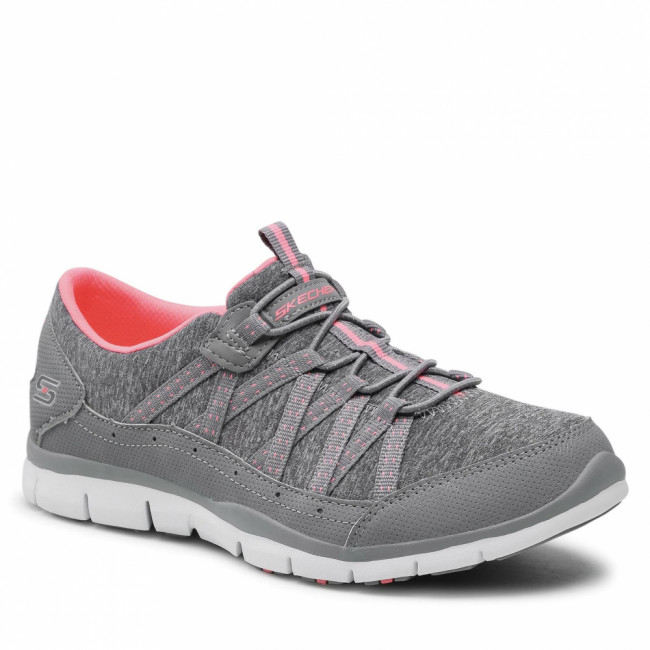 Topánky SKECHERS - Lets Cruise 104008/GYCL Gray/Coral