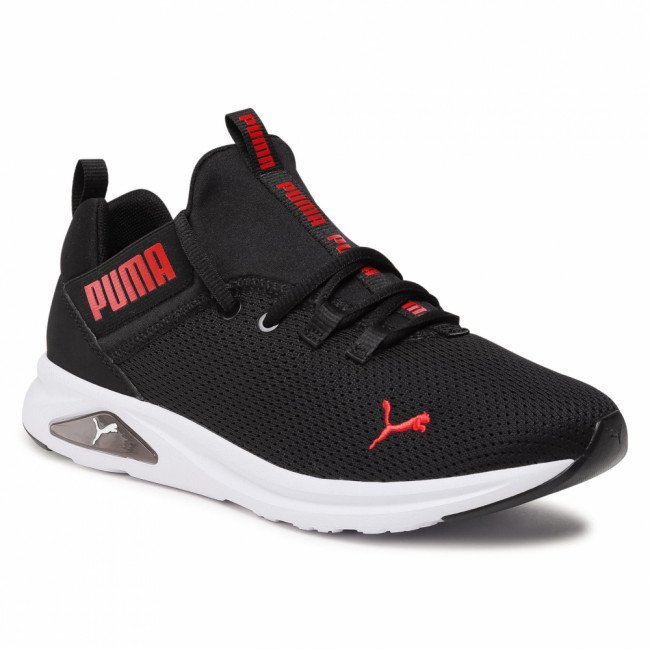 Topánky PUMA - Enzo 2 Uncaged 195105 05 Black/High Risk Red