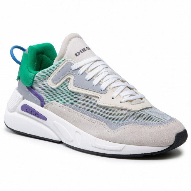 Sneakersy DIESEL - S-Serendipity Sm Y02640 P4011 H8523 Vaporous Gray/Ultra Violet/Jelly Bean