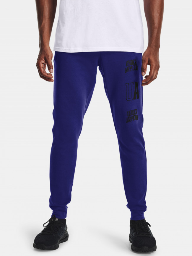 Tepláky Under Armour RIVAL TERRY CLLGT JGS-BLU