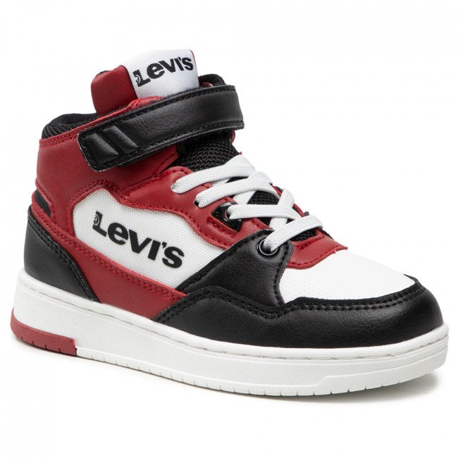 Sneakersy LEVI'S® - VIRV0012T Black Red 0178