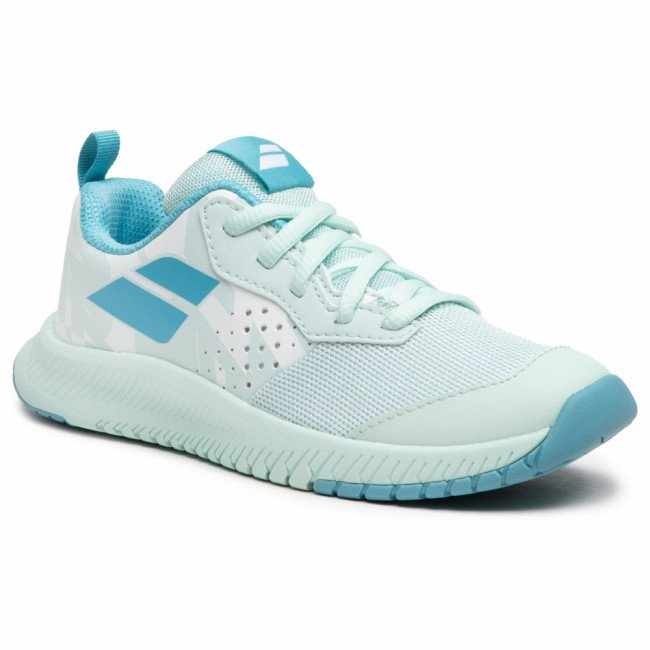 Topánky BABOLAT - Pulsion All Court Jr 32S21482 White/Honeydew