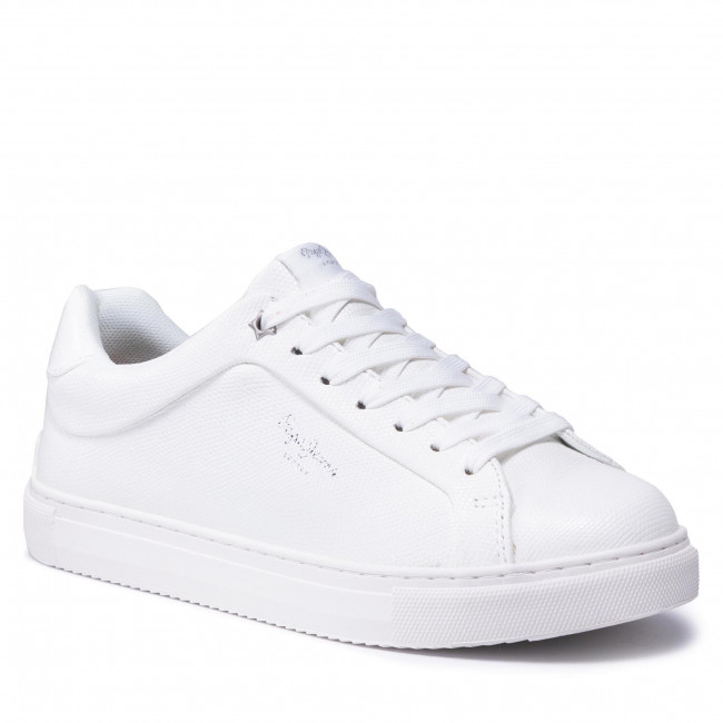 Sneakersy PEPE JEANS - Adams Collins PLS31199 Off White 803
