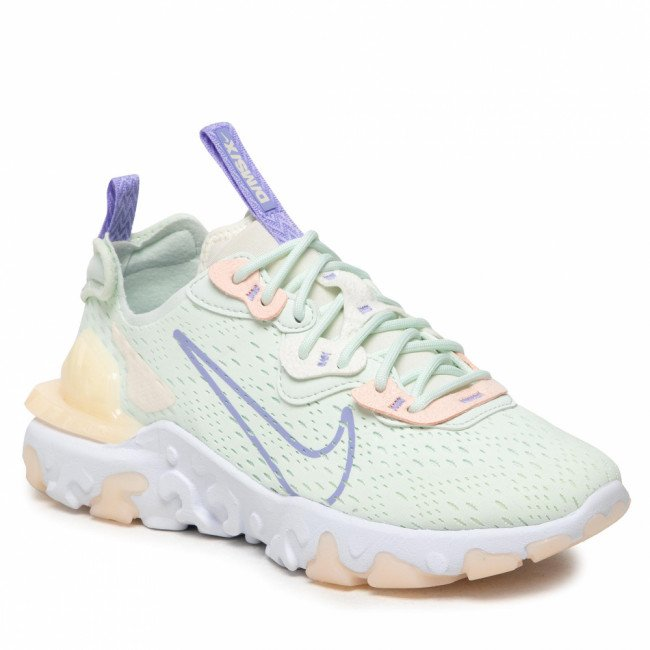 Topánky NIKE - Nsw React Vision CI7523 301 Barely Green/Purple Pulse